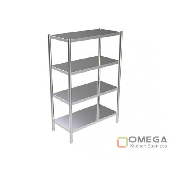 4 - TIERS PLAIN SHELVES OKS-4TPS-01