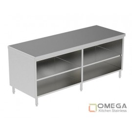 Open Cabinet W/Under Shelf OKS-OC(W/U Shelf)-03