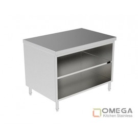 Open Cabinet W/Under Shelf OKS-OC(W/U Shelf)-02