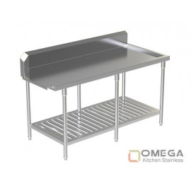 Clean Dish Table W/Under Slatted Shelf OKS-CDT-W/Under SS-04