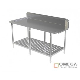 Clean Dish Table W/Under Slatted Shelf OKS-CDT-W/Under SS-03
