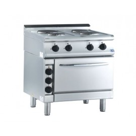 4 HOT PLATE RANGE ELECTRIC W/OVEN 7KE 230