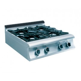 4 BURNERS COOKER GAS TOP 7KG 200