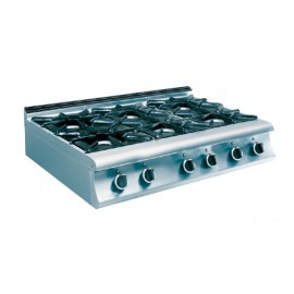 6 BURNERS COOKER GAS TOP 7KG 300