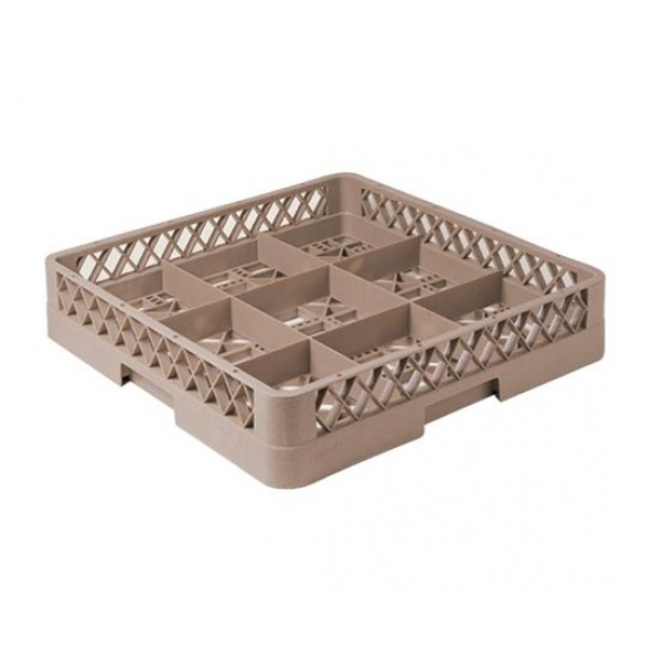 9 -compartment Glass Rack
