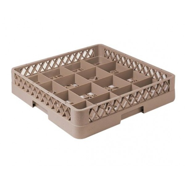 16-compartment Glass Rack