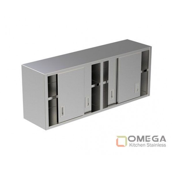 Wall Cabinet/Under Shelf / Sliding Doors OKS-WC(U Shelf / SD)-01