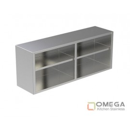 Open Wall Cabinet W/Under Shelf OKS-OWC (W/U Shelf )-01
