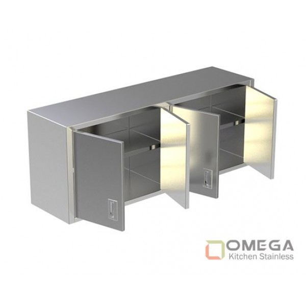 Wall Cabinet/Under Shelf / Sliding Doors OKS-WC(U Shelf / SD)-02
