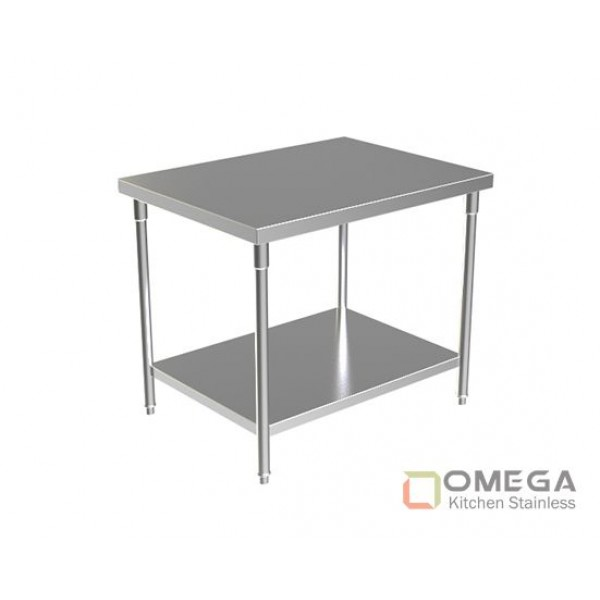 WORK TABLE WITH UNDER SHELF OKS-WT(W/U SHELF)-02