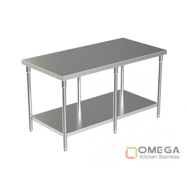 WORK TABLE WITH UNDER SHELF OKS-WT(W/U SHELF)-01